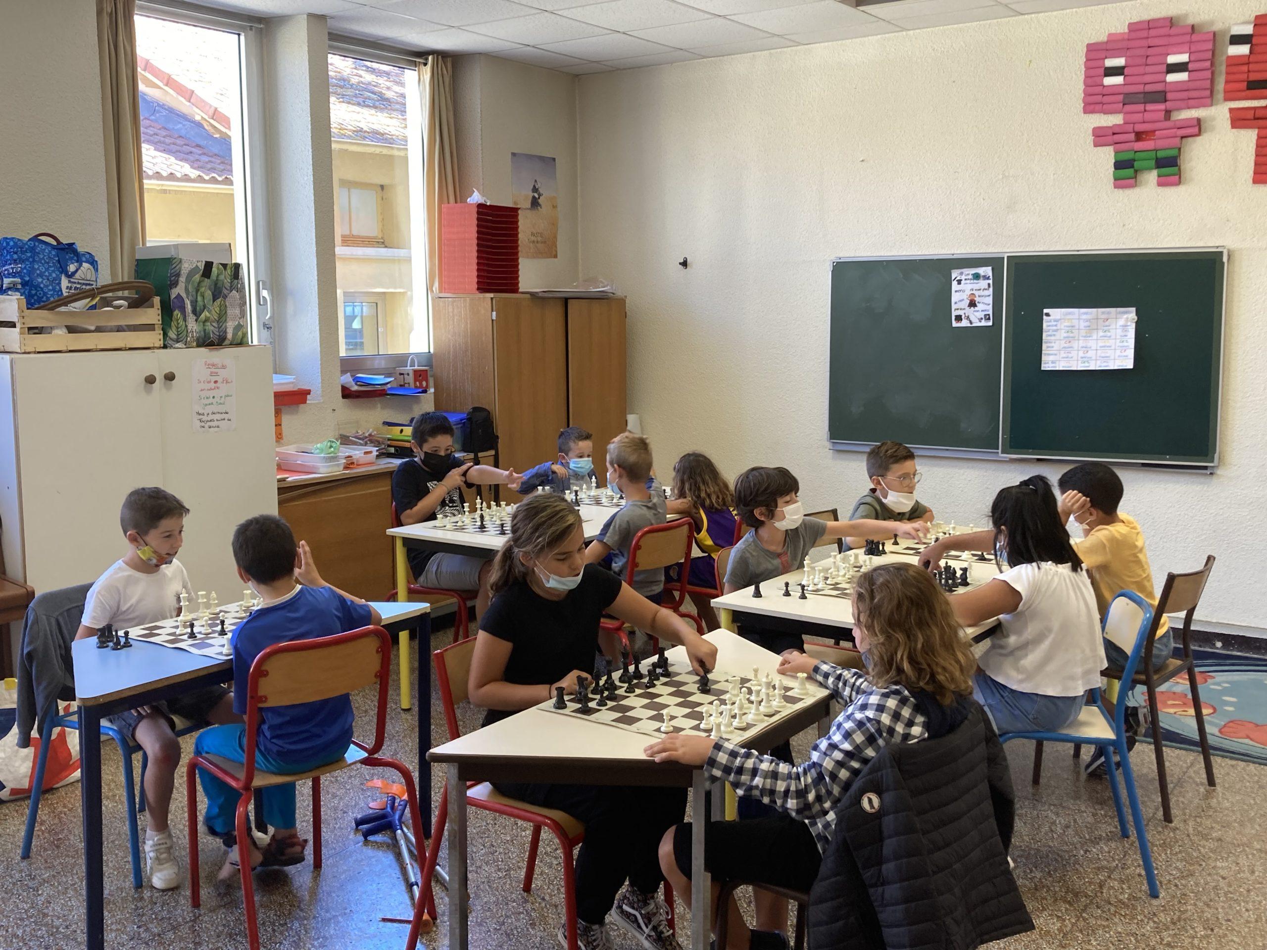 Ecole d'échecs Jeunes